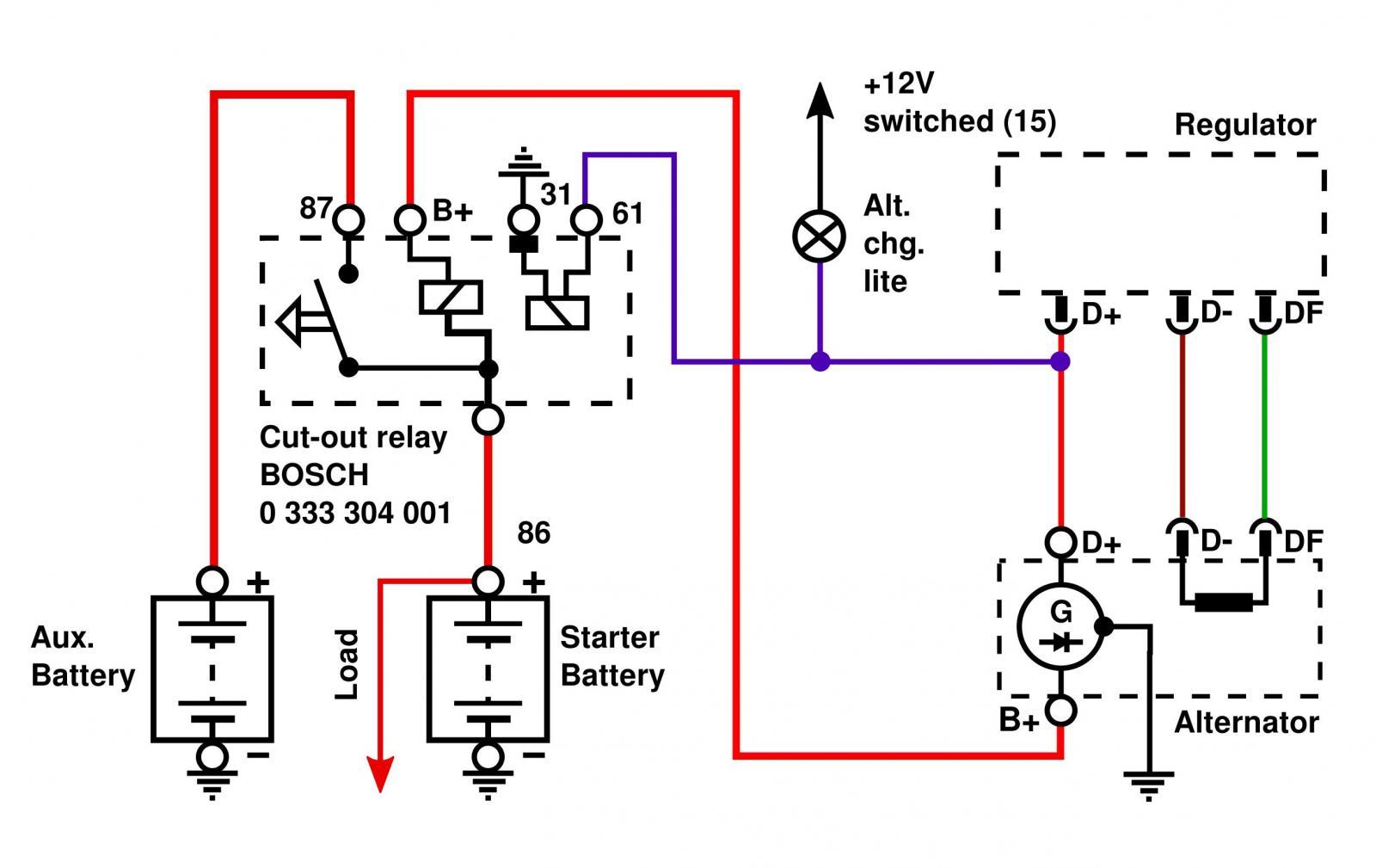 Relay Terminal On Alternator