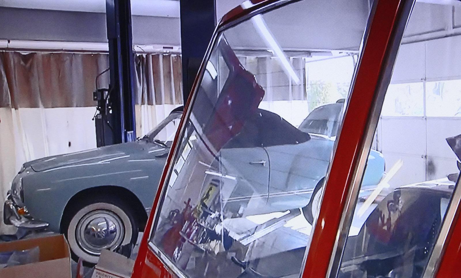 Karmann Ghia seen in episode of 'Chasing Classic Cars'