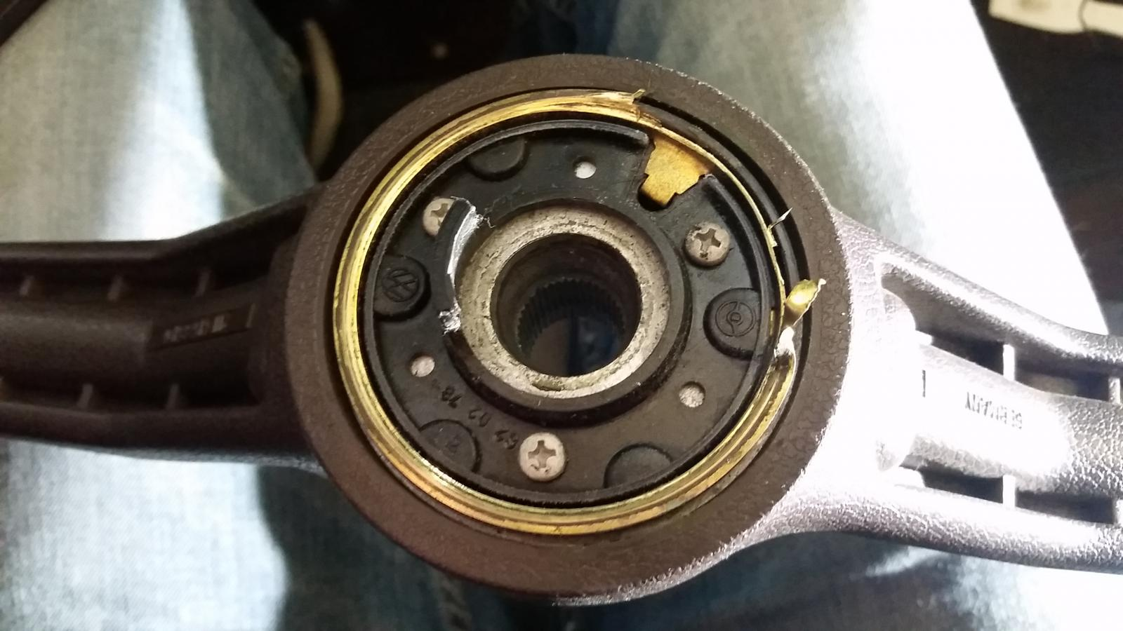worn horn ring