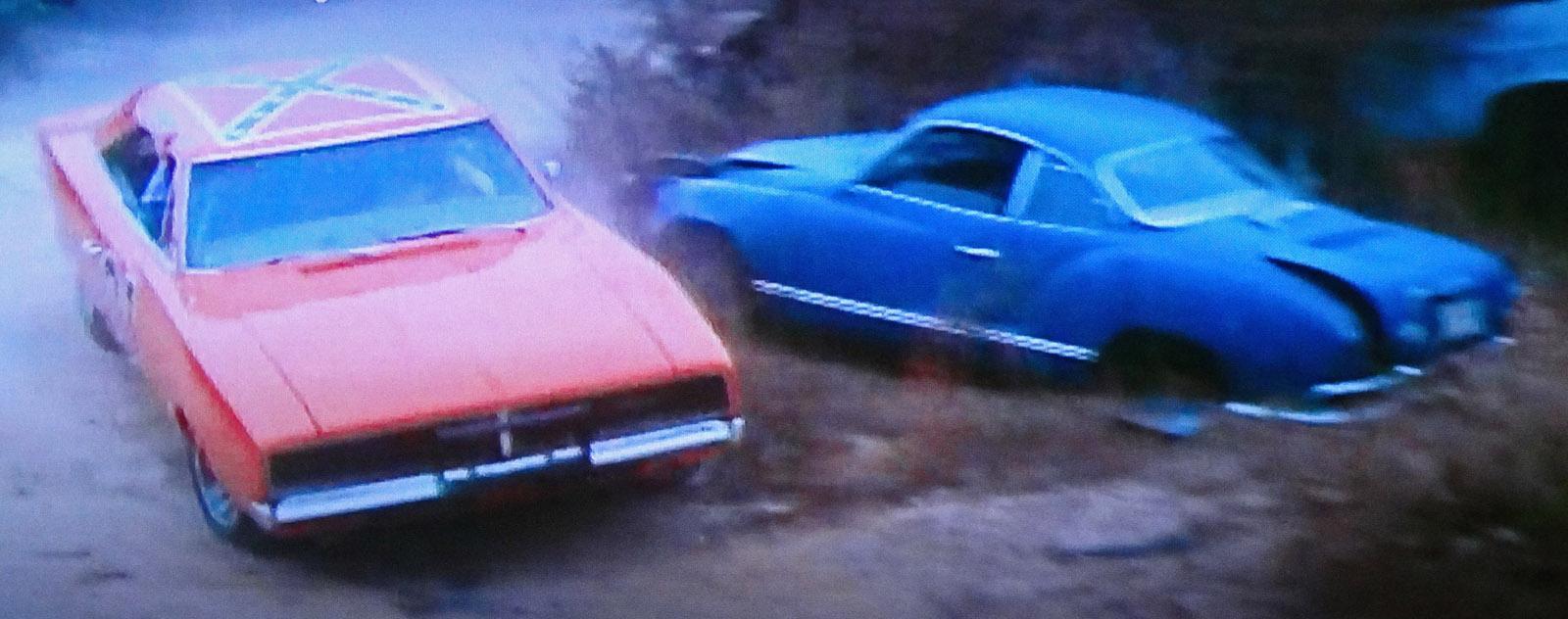 Karmann Ghia in 'Dukes of Hazzard'