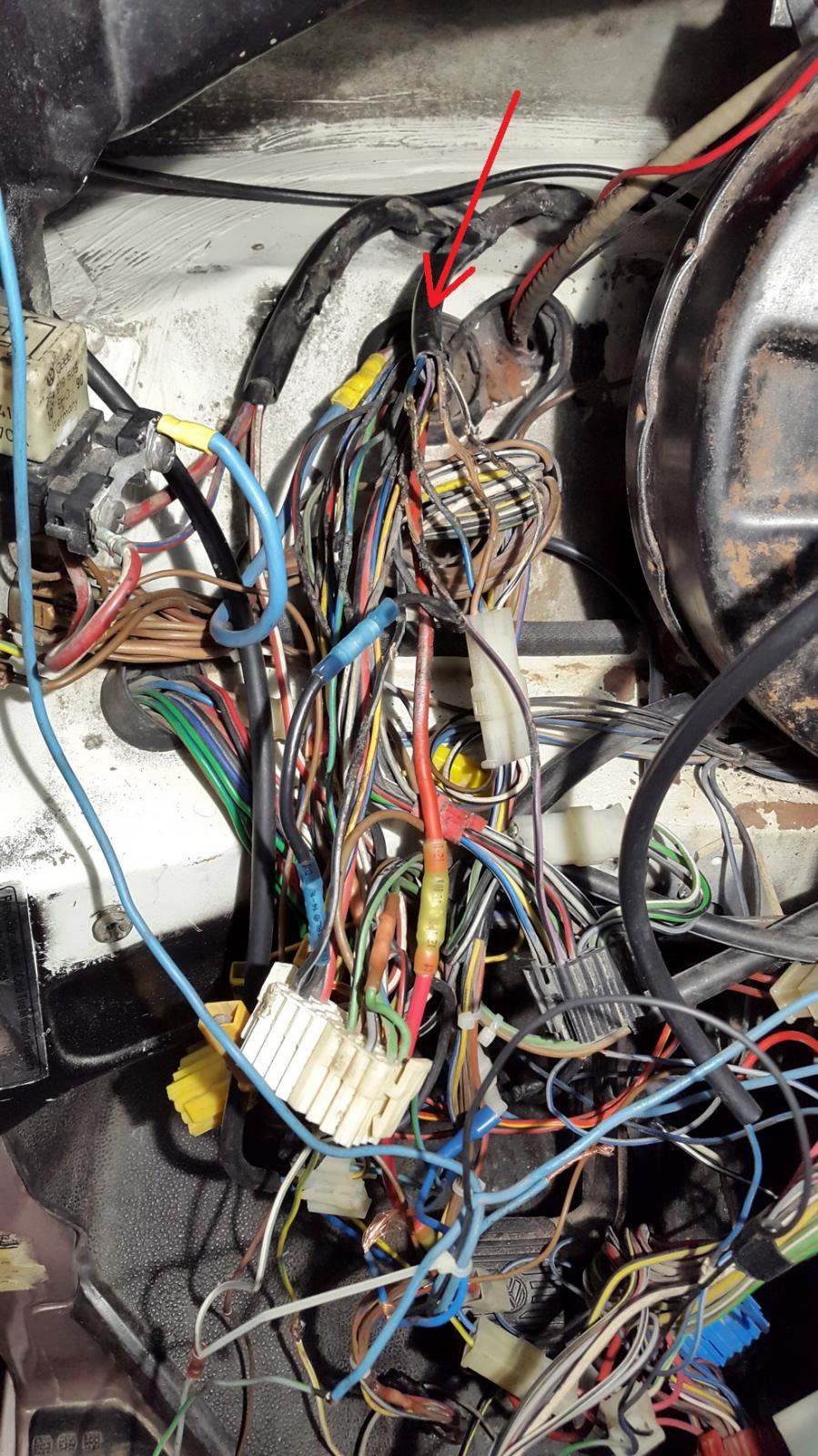 Vanagon View Topic Syncro Specific Wire Harness Management Image May Have Been Reduced In Size Click To Fullscreen