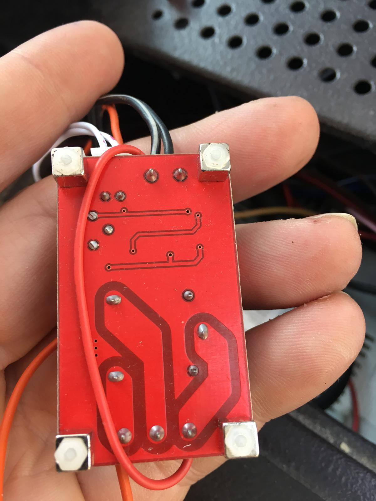 Photodetector clock stereo display dimmer