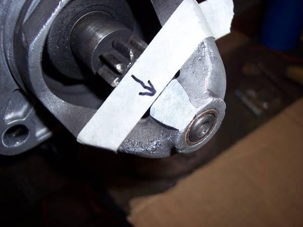 Vanagon Diesel Starter mod