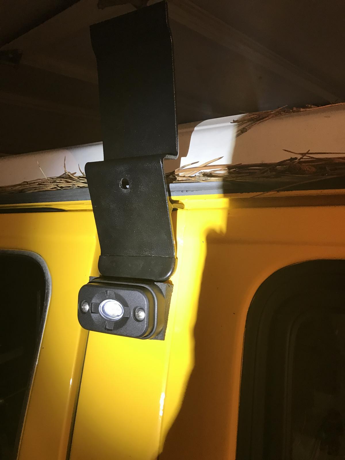 Vanagon perimeter lighting system