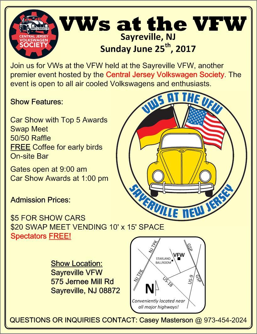 VWs at the VFW 2017