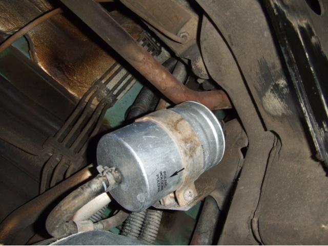 93 eurovan fuel filter bracket