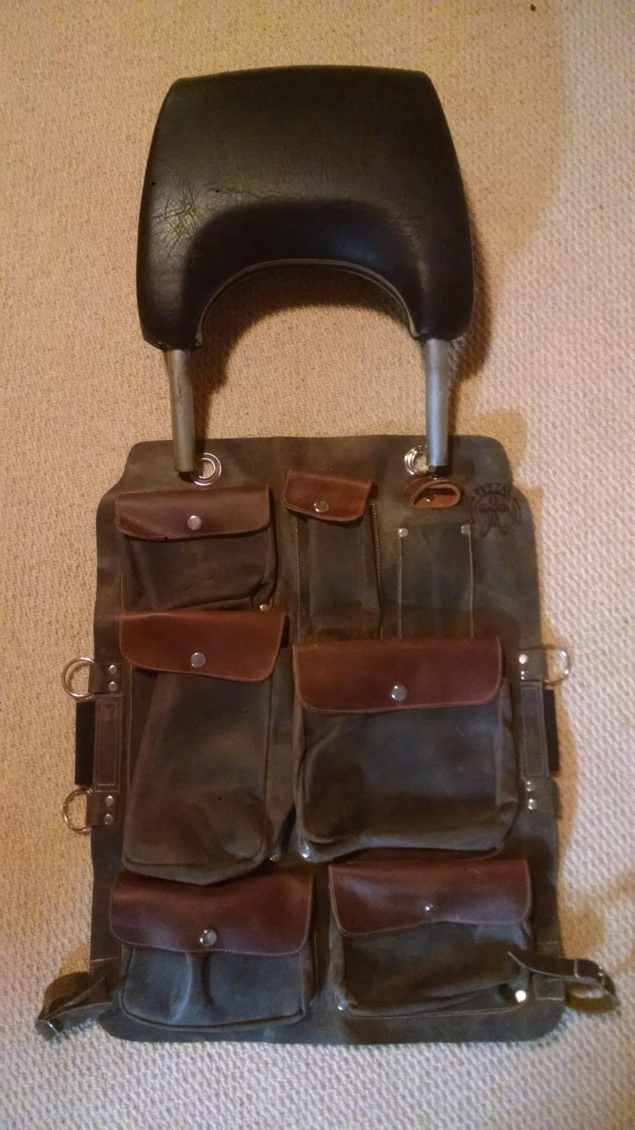 Ketzal seat pockets for a Baywindow?