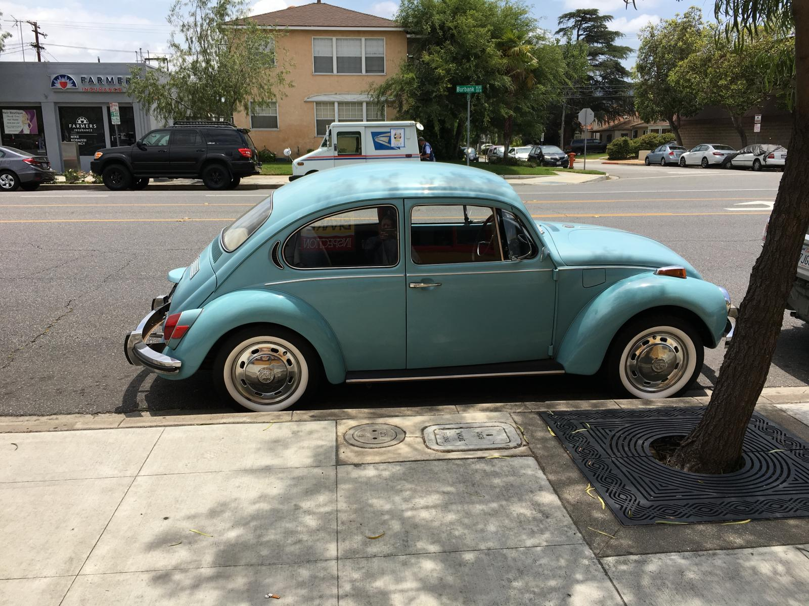 1971 Super Beetle - Marina Blue