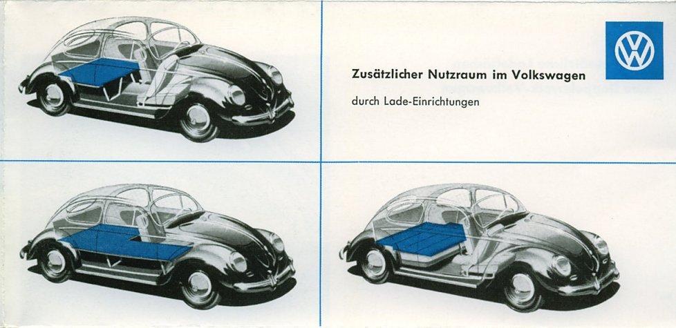 Vintage VW accessory catalog