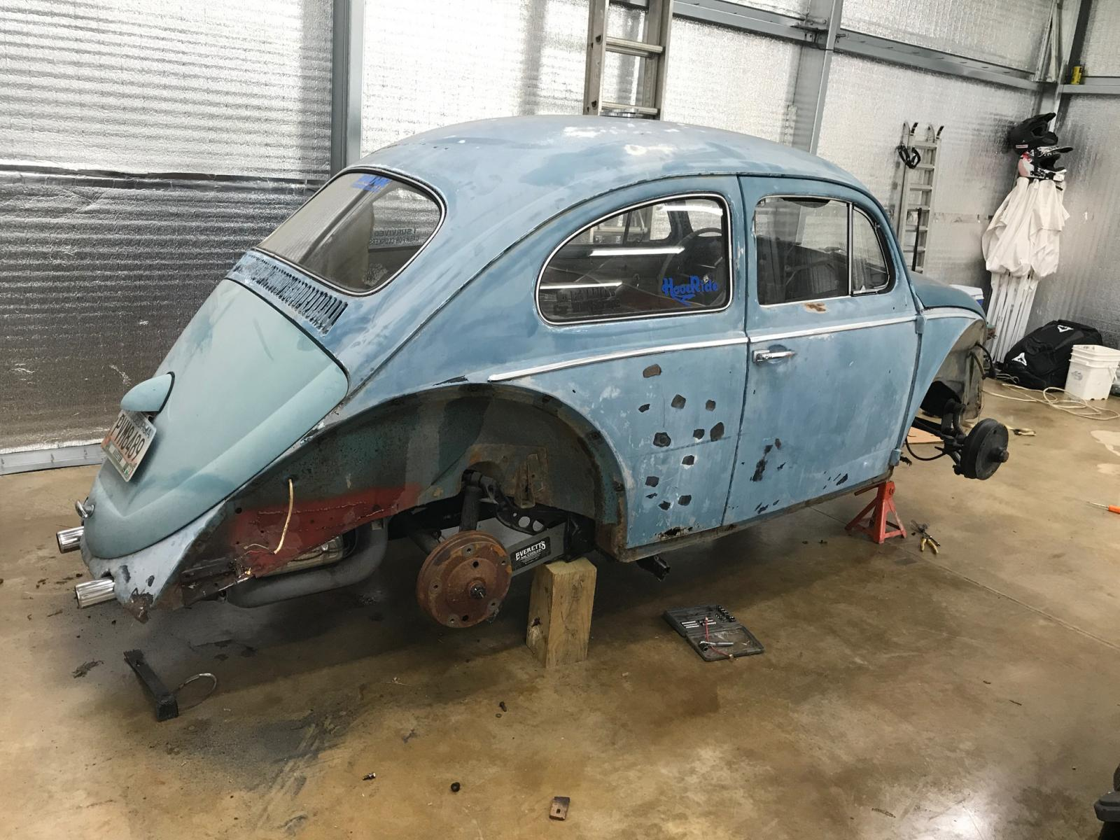 1963 Beetle build 1655522