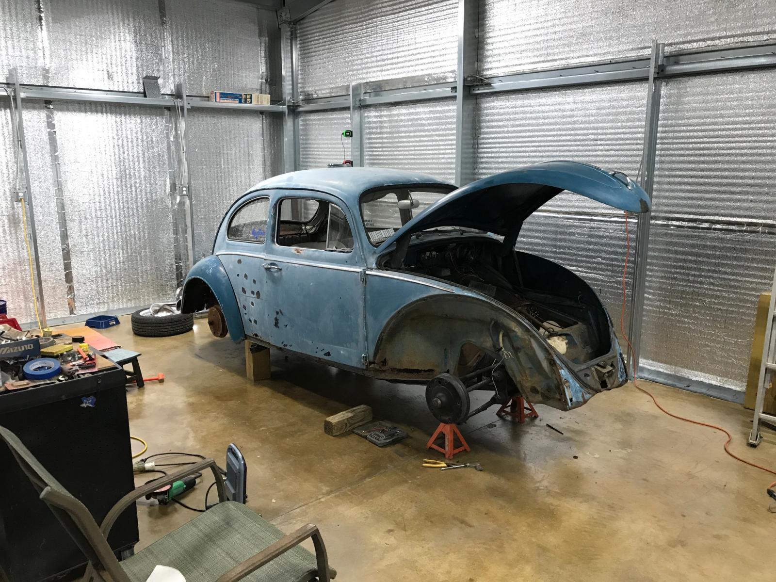 1963 Beetle build 1655524