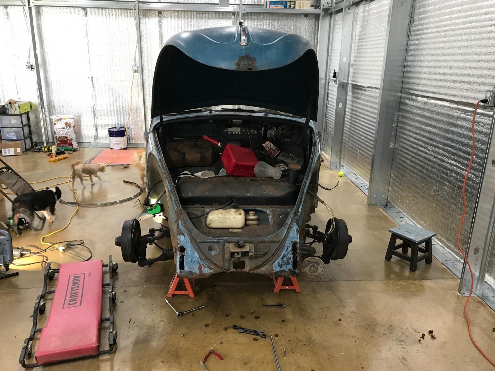 1963 Beetle build 1655526