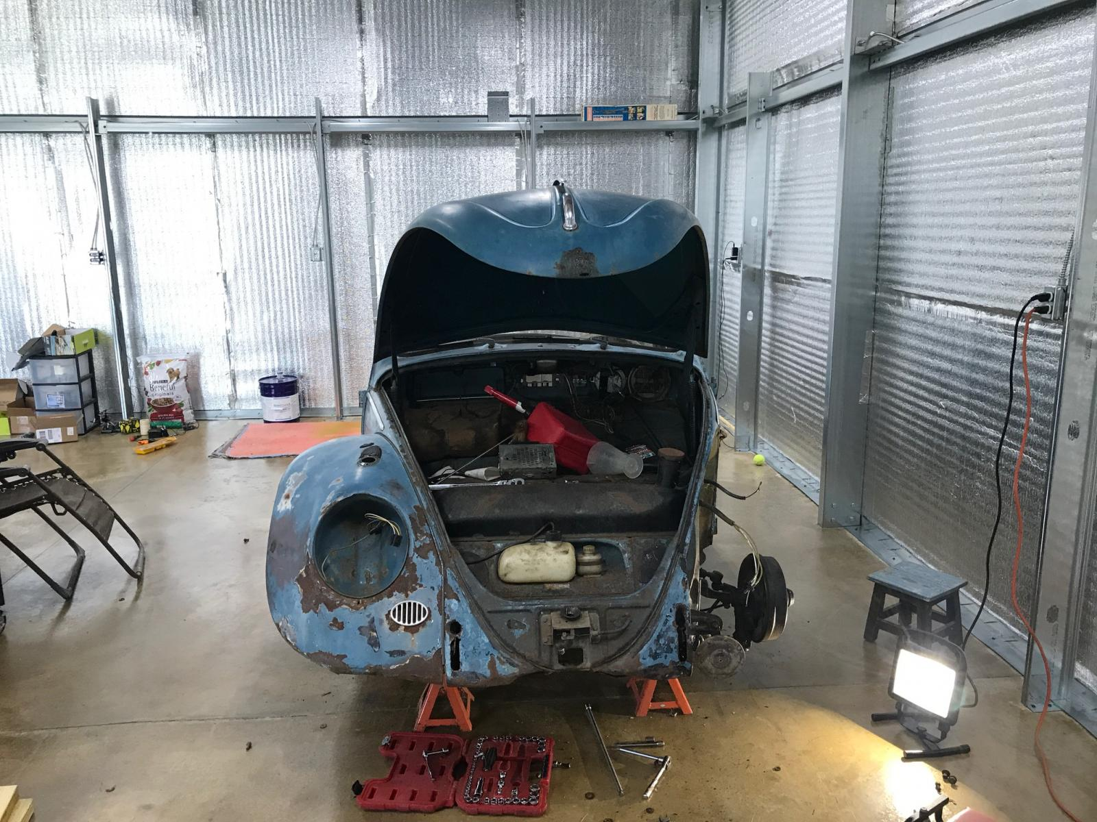 1963 Beetle build 1655527