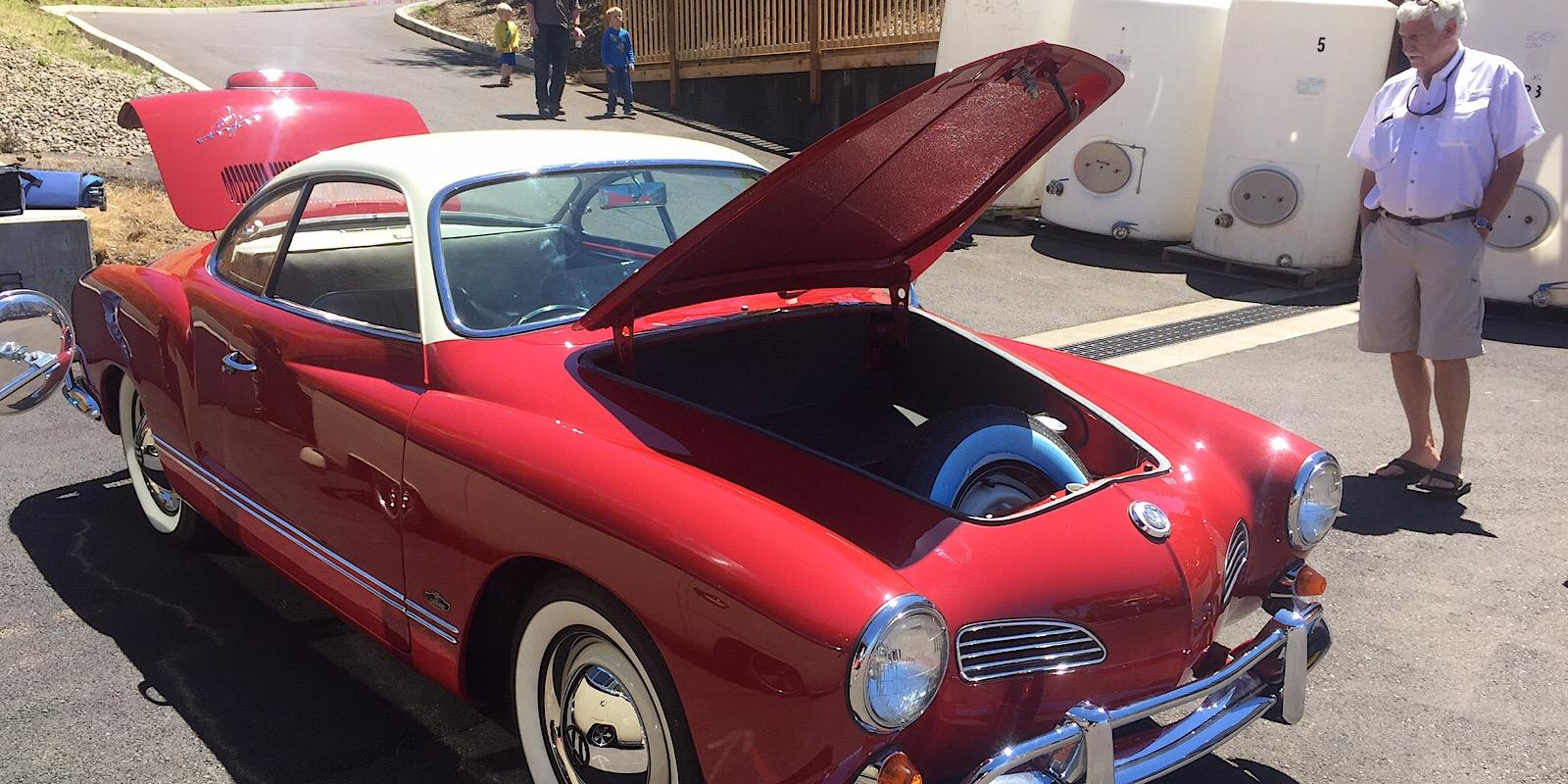 1964 Ruby Red Ghia