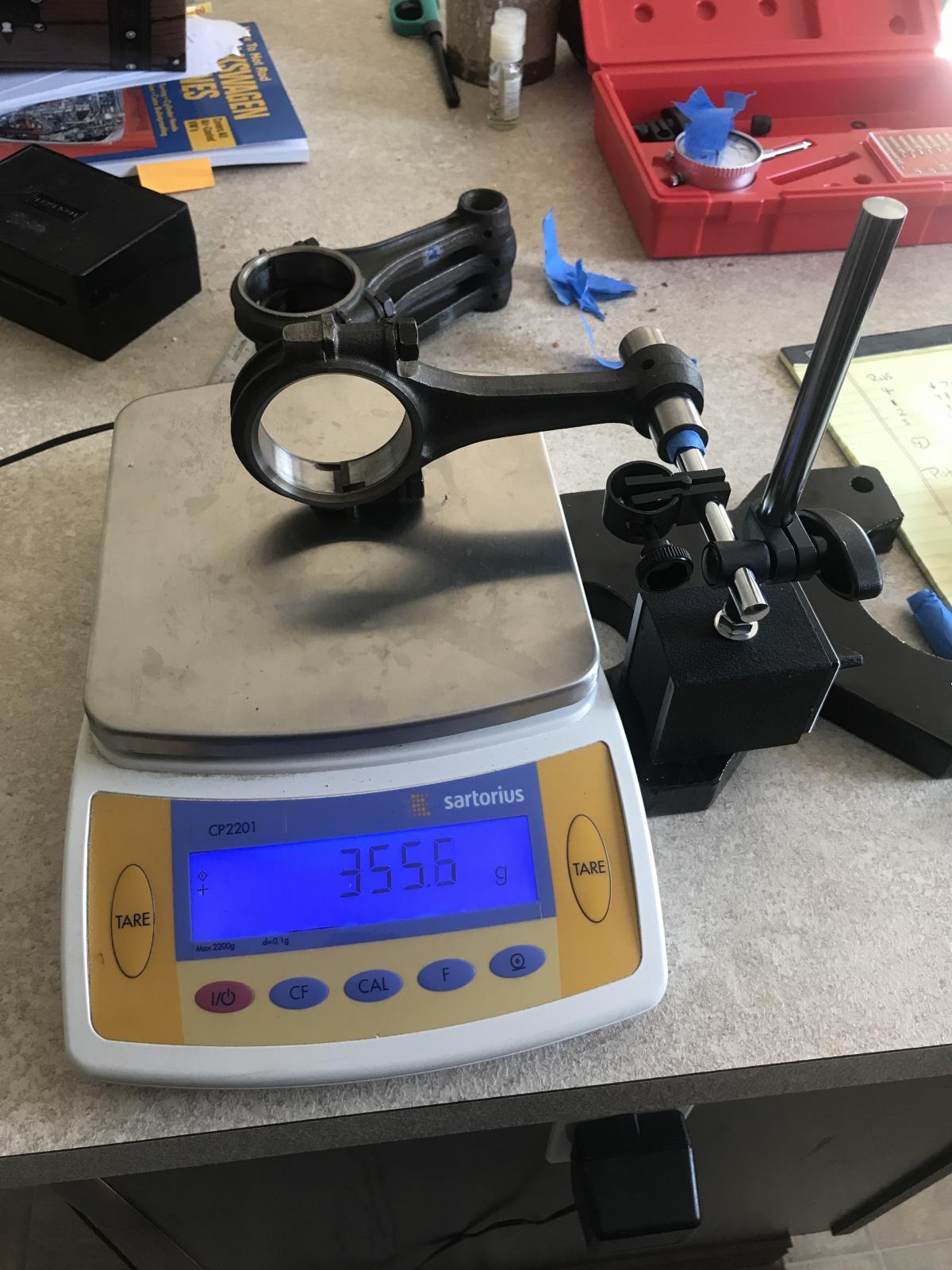 Rod balancing setup