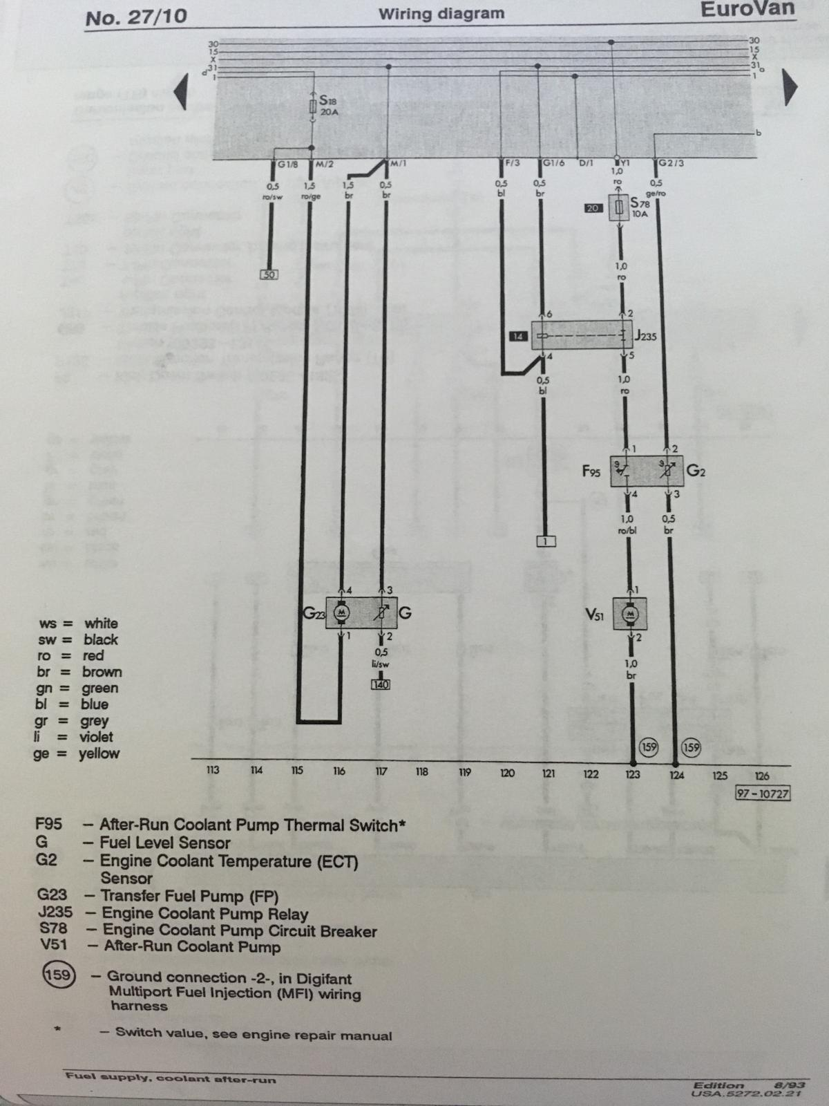 1993 Eurovan Wiring Diagram List Of Schematic Circuit Fig 2 Engine Coolant Temperature Ect Sensor U2022 Rh Olivetreedesigns Co