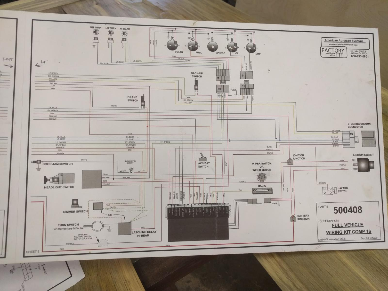 Amazing American Autowire Diagrams Sketch - Everything You Need to ...