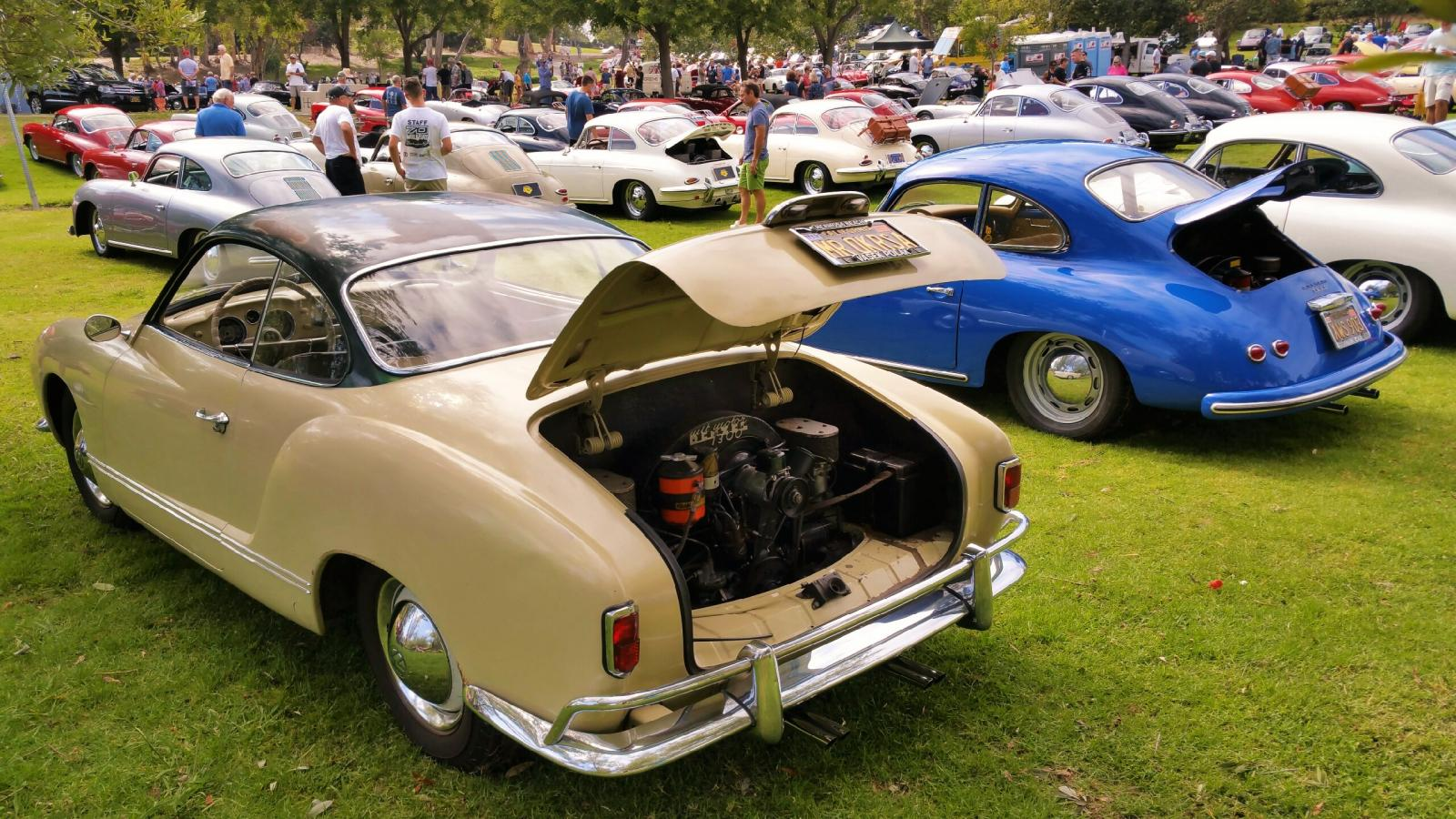31st Annual Porsche 356 Club Concours