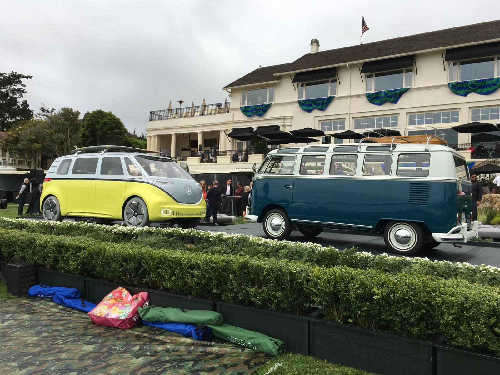 New VW bus. ID Buzz