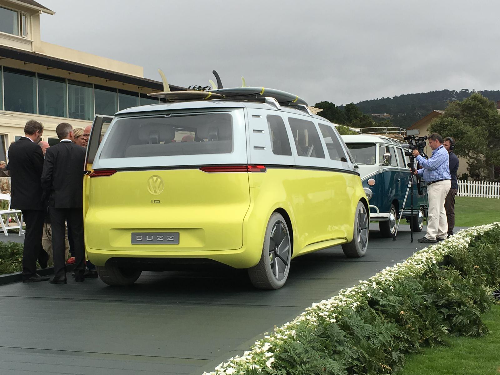 New VW bus