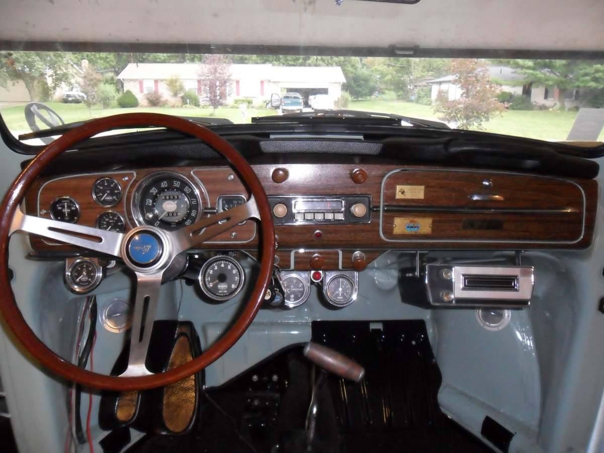 My 1966 Empi GTV MKIV dash when it still had an AM radio