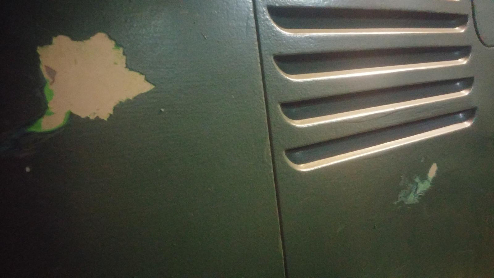 1964 kombi paint stripping
