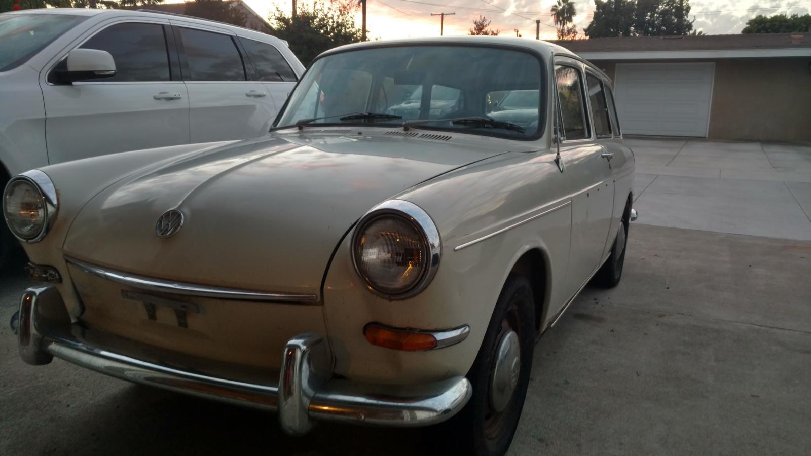 1967 Pearl White Squareback