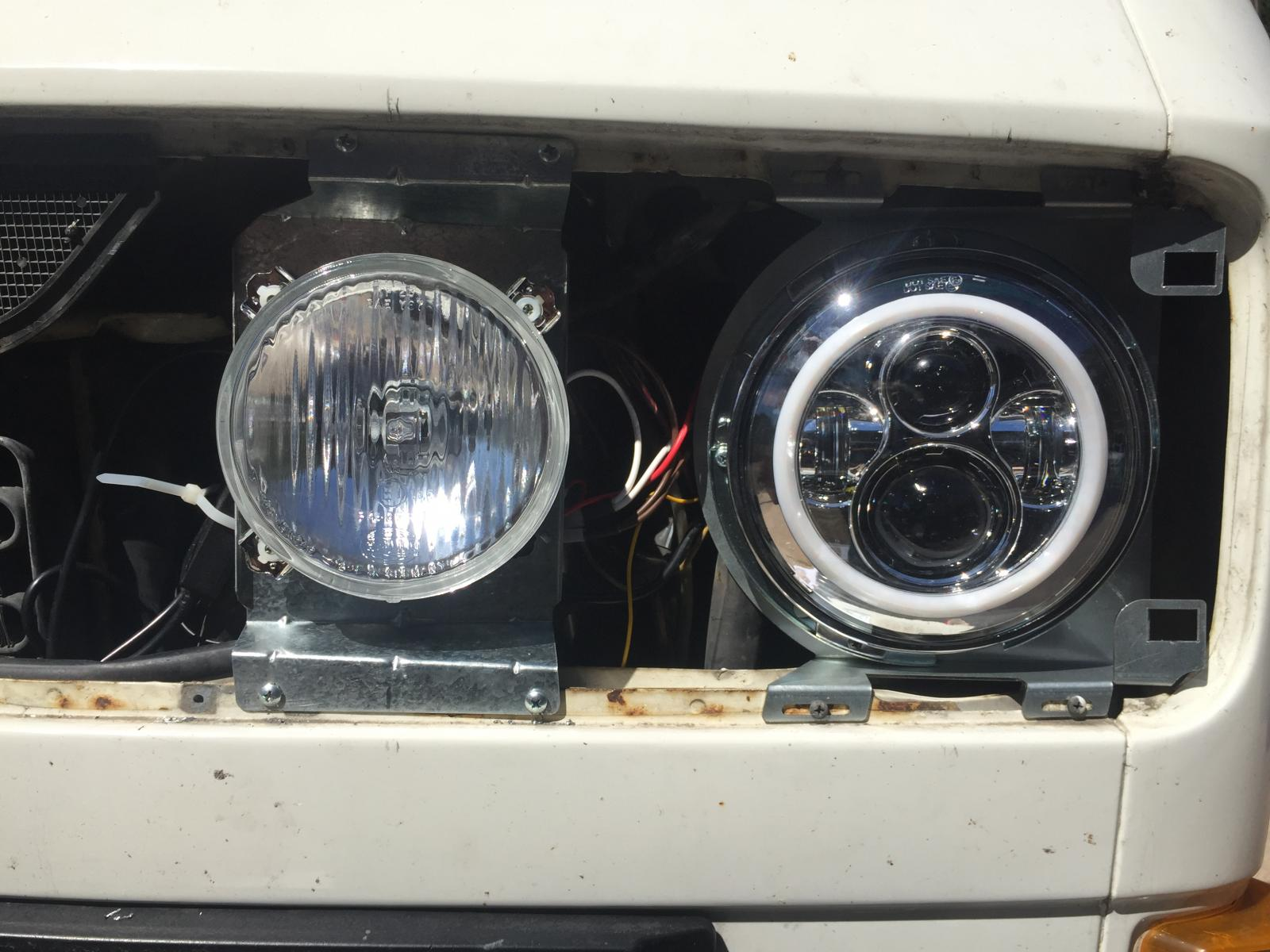 Headlight upgrade