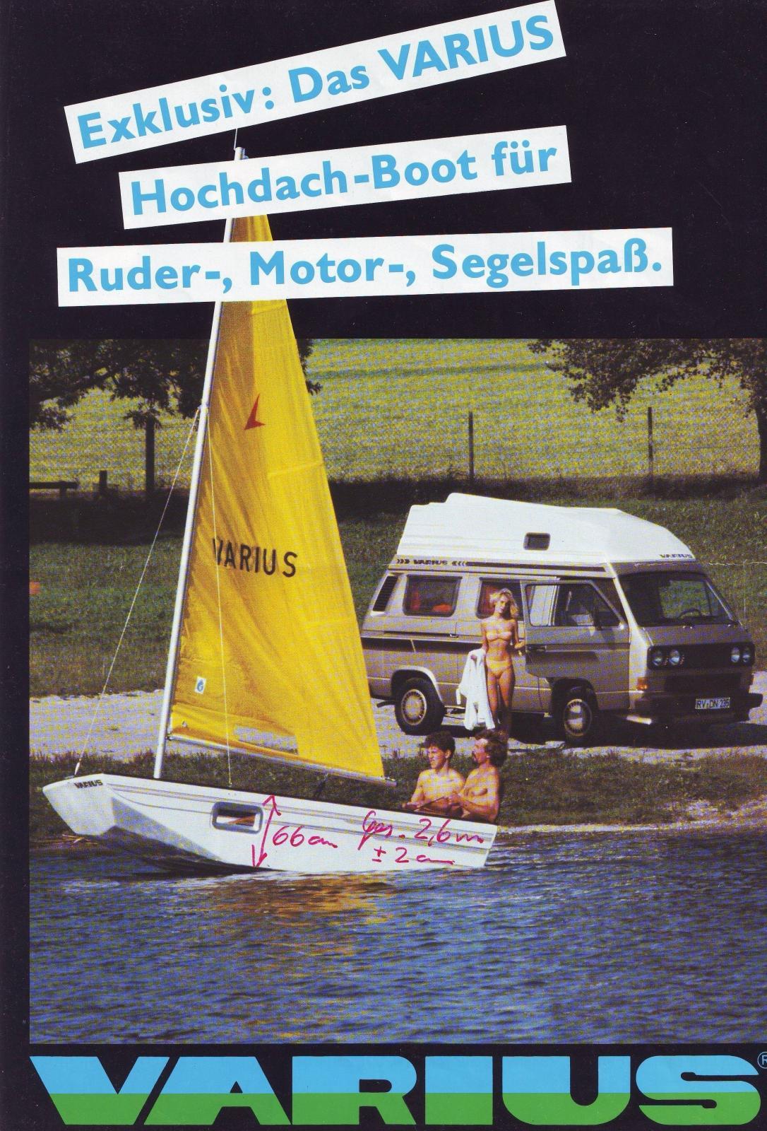 Varius Boat-top Camper
