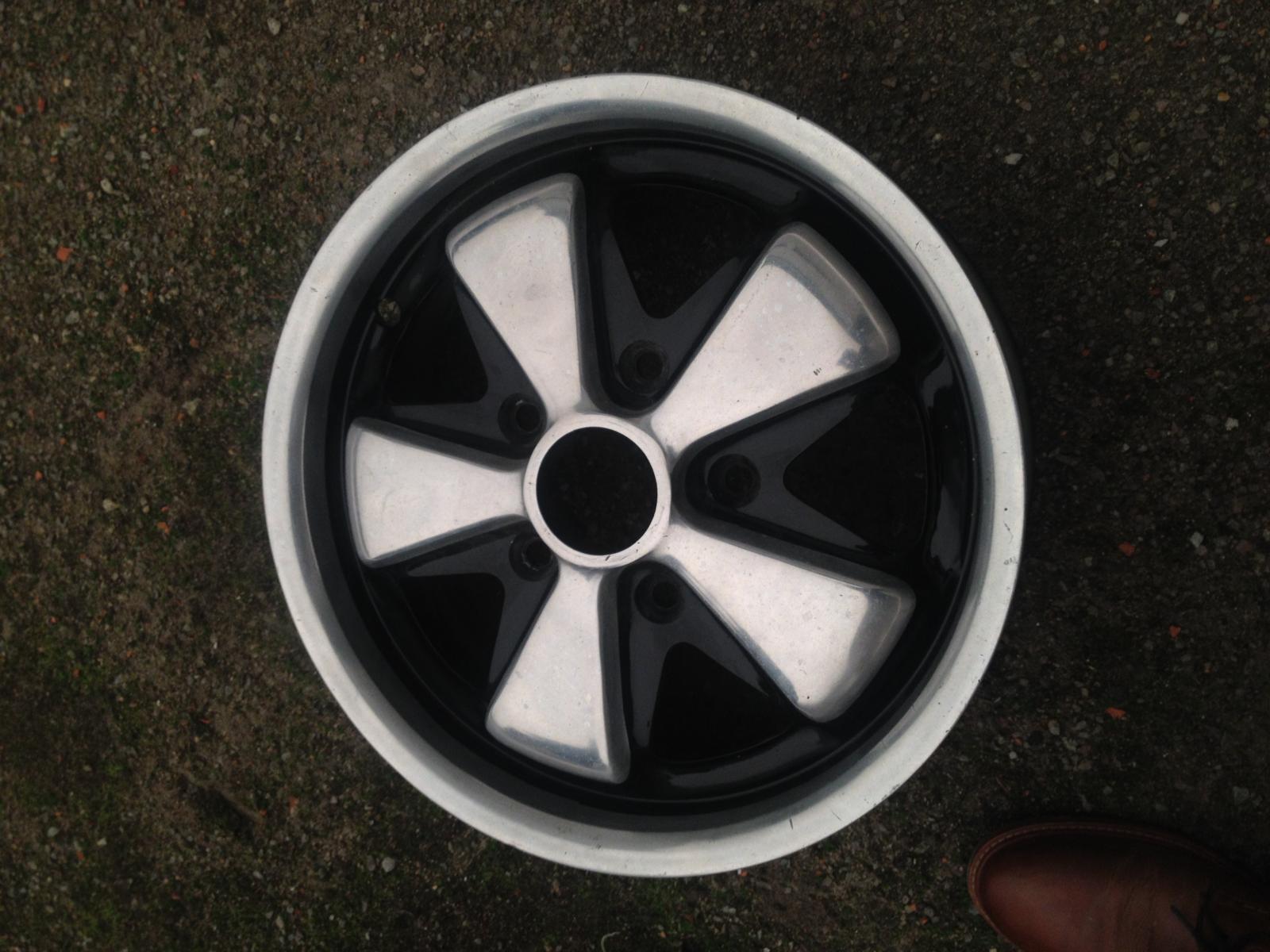 Original Fuchs Wheel 15 / 5,5 Deep Heart 1/1968