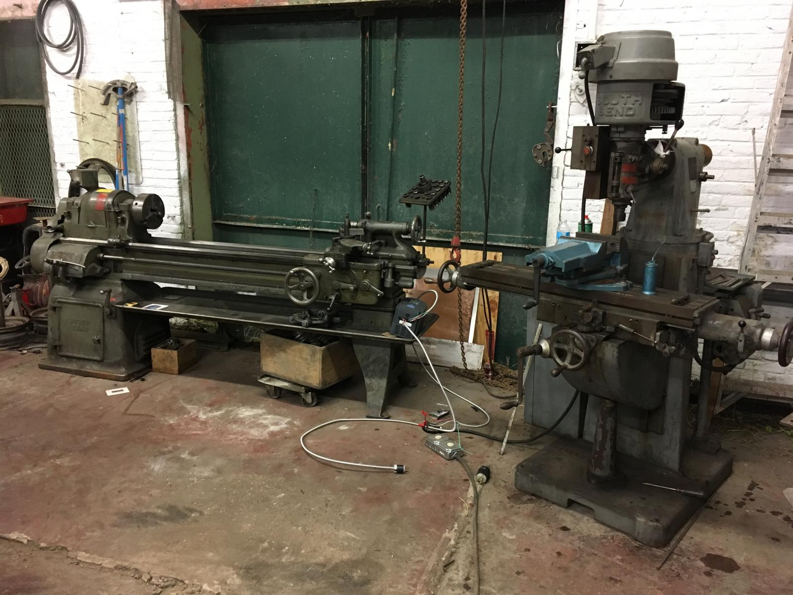 TheSamba com :: Gallery - south bend lathe and mill