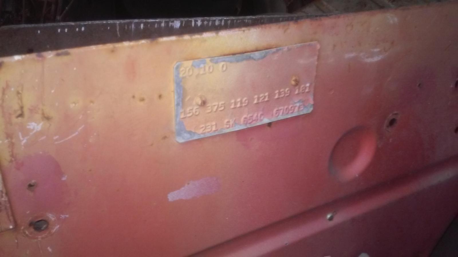 found so23 that had factory safaris, ambulance fan, gas heater.