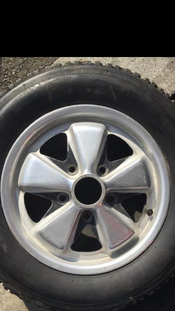 Original Fuchs Wheel 15 / 4,5 Deep Heart