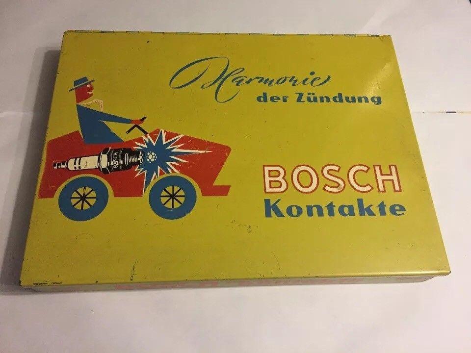 Vintage Bosch Spare Parts Tin