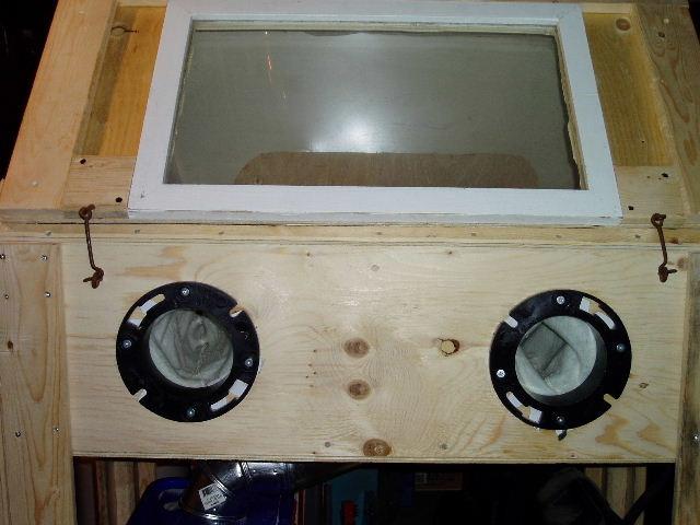 Low-Buck Blast Cabinet