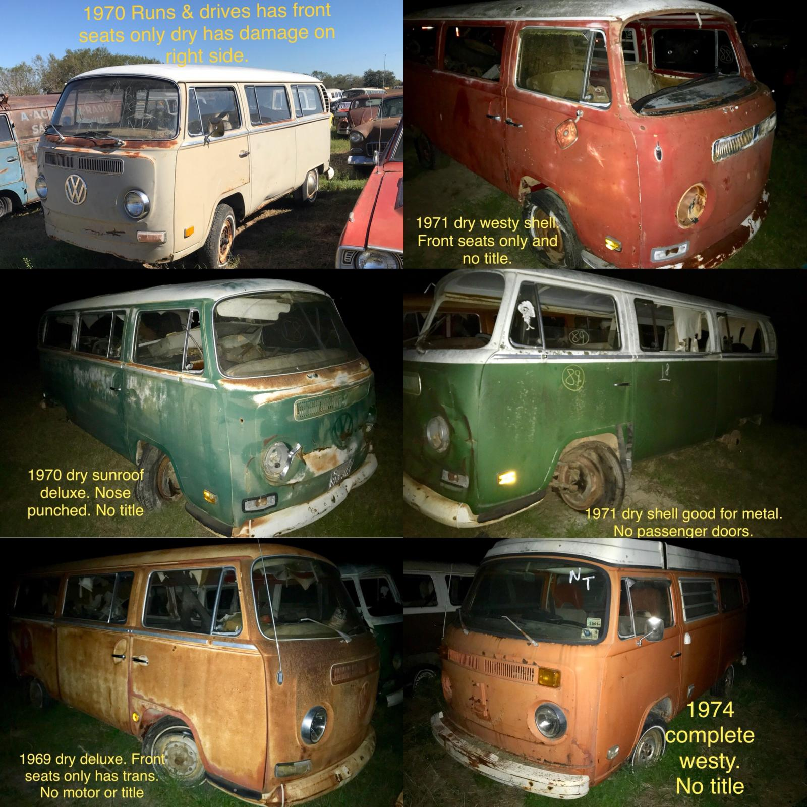 Texas Vintage Vdubs getting some bay buses ready to post.
