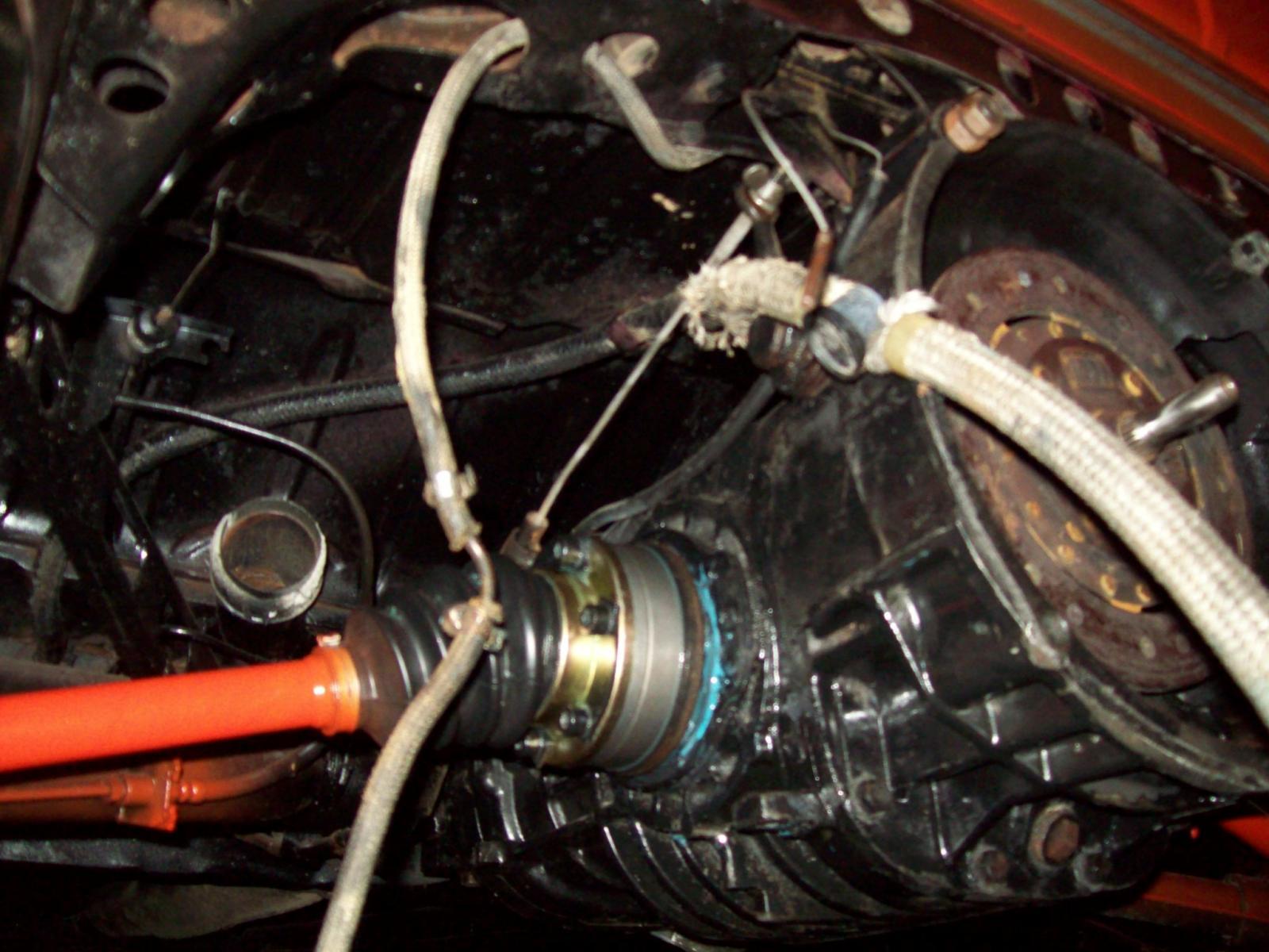 Converted Vanagon 091 transmission