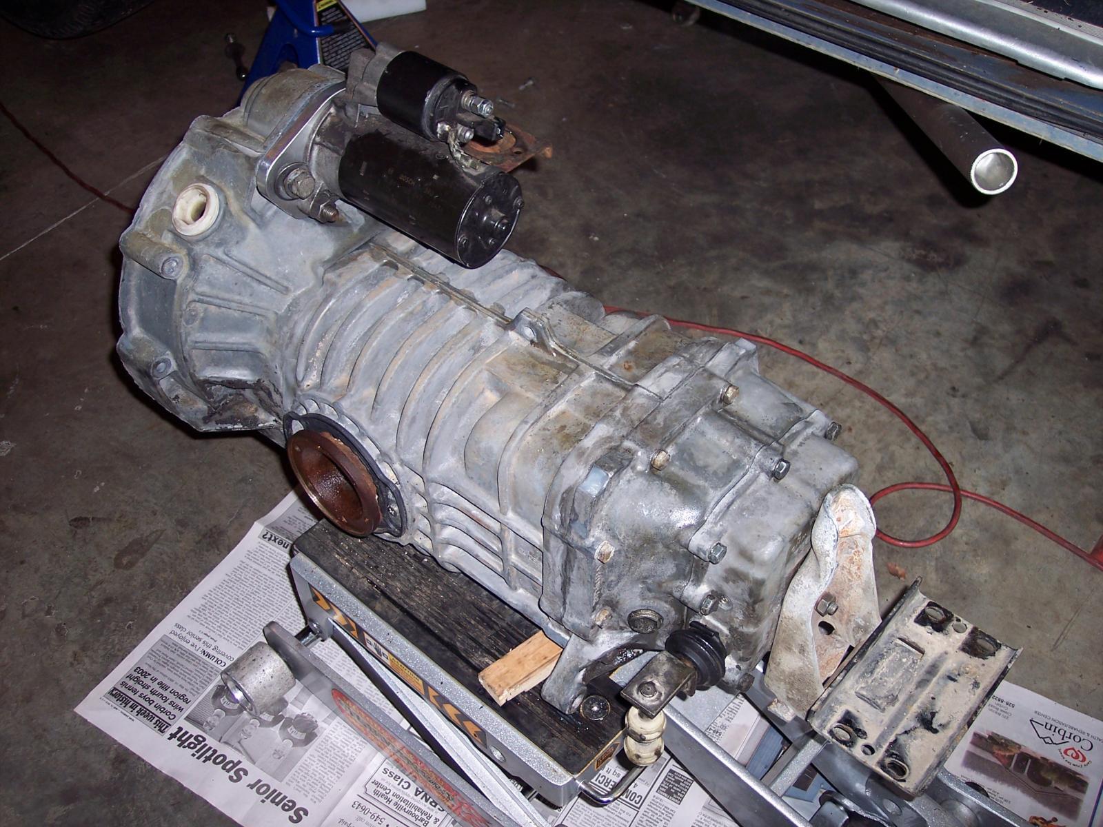 TDI starter mounted