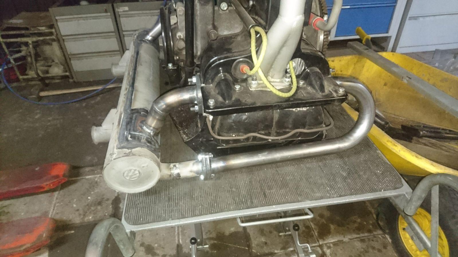 36hp custom exhaust