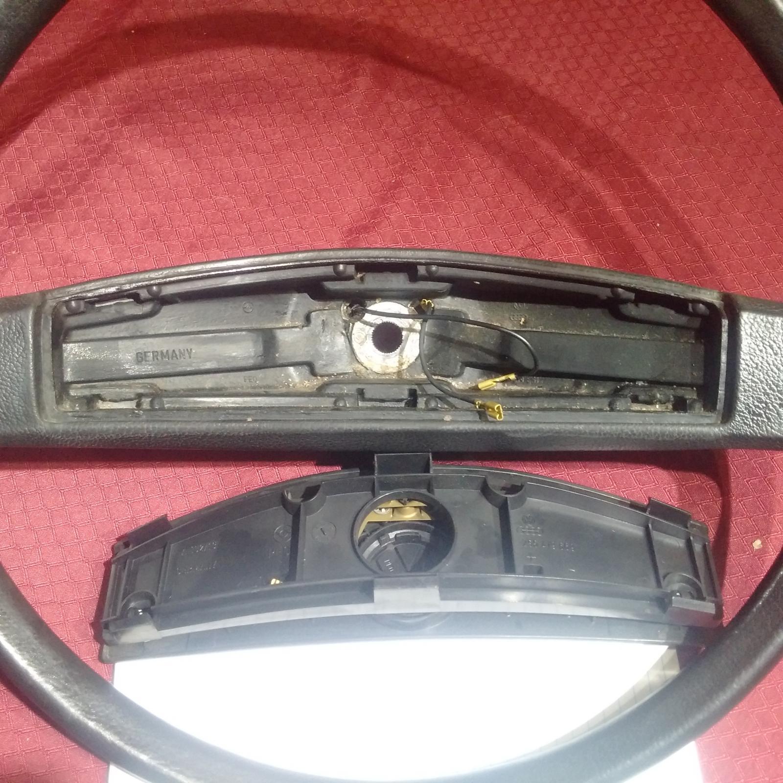 1982 Black Non Power Steering Wheel