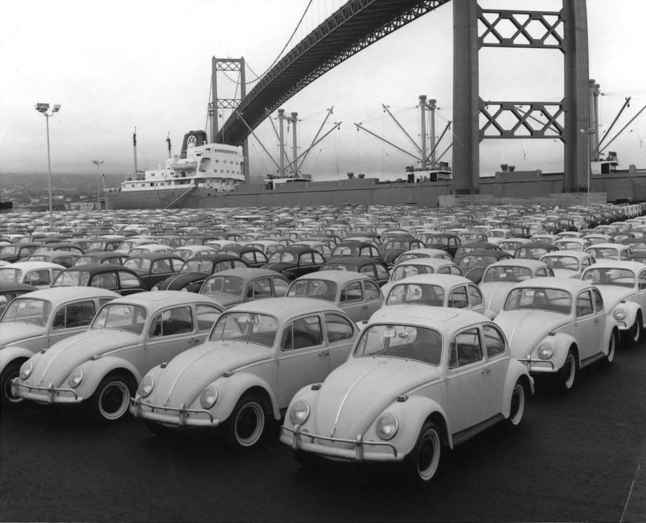 VW in L.A. Harbor/San Pedro california