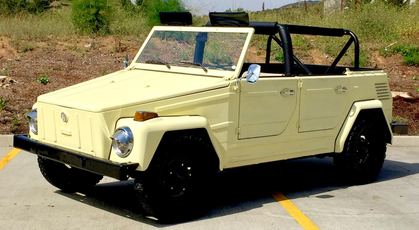 1973 Vw Thing 100 Electric Kit From Ev West