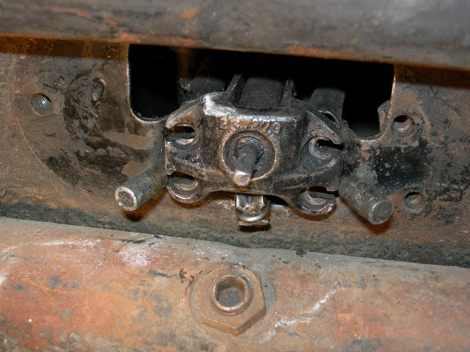 Cable brakes of my april 1949