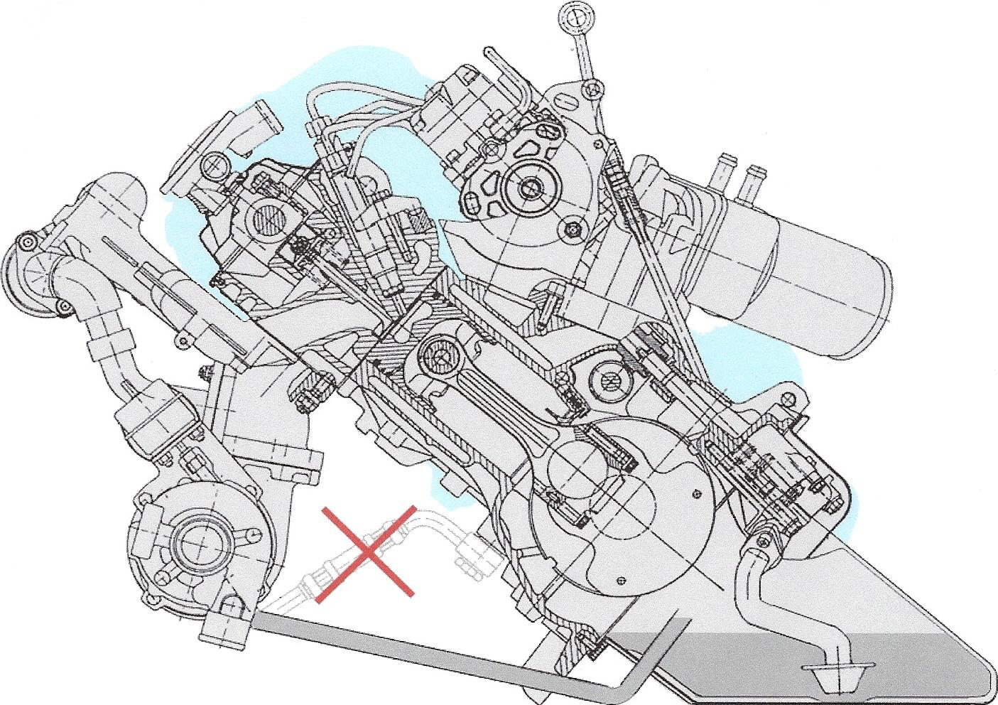 TDI engine on 50 degrees