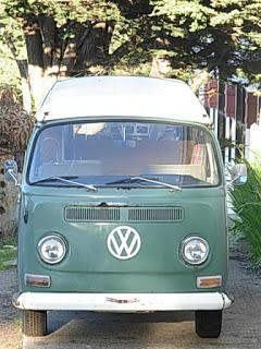 1968 Westfalia Velvet Green