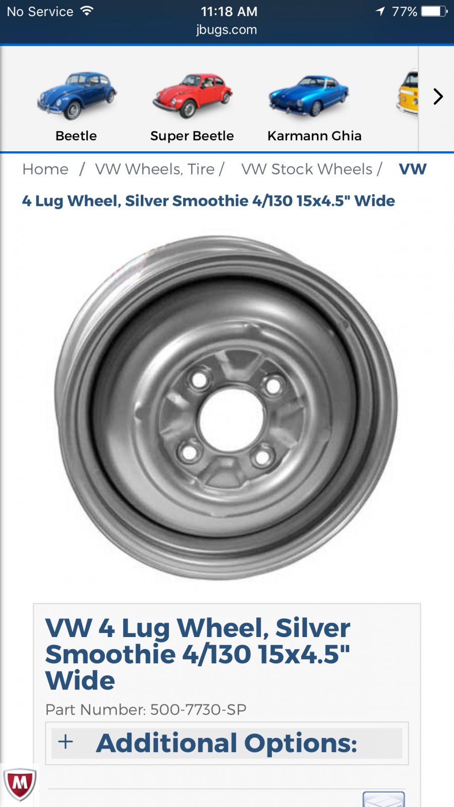Where can I get 4 lug vw smoothies that fit baby moon hub caps?