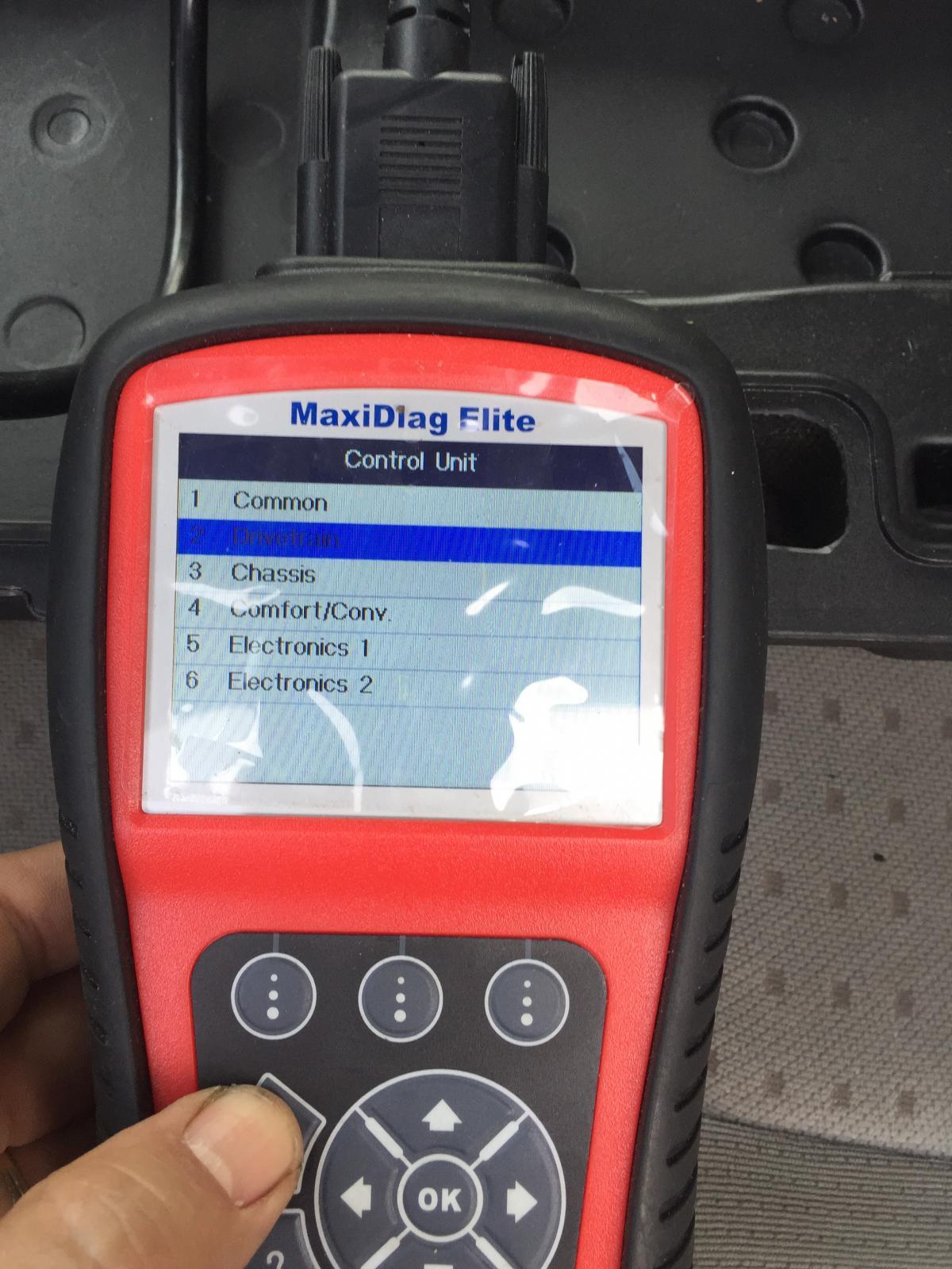 AUTEL transmission scan