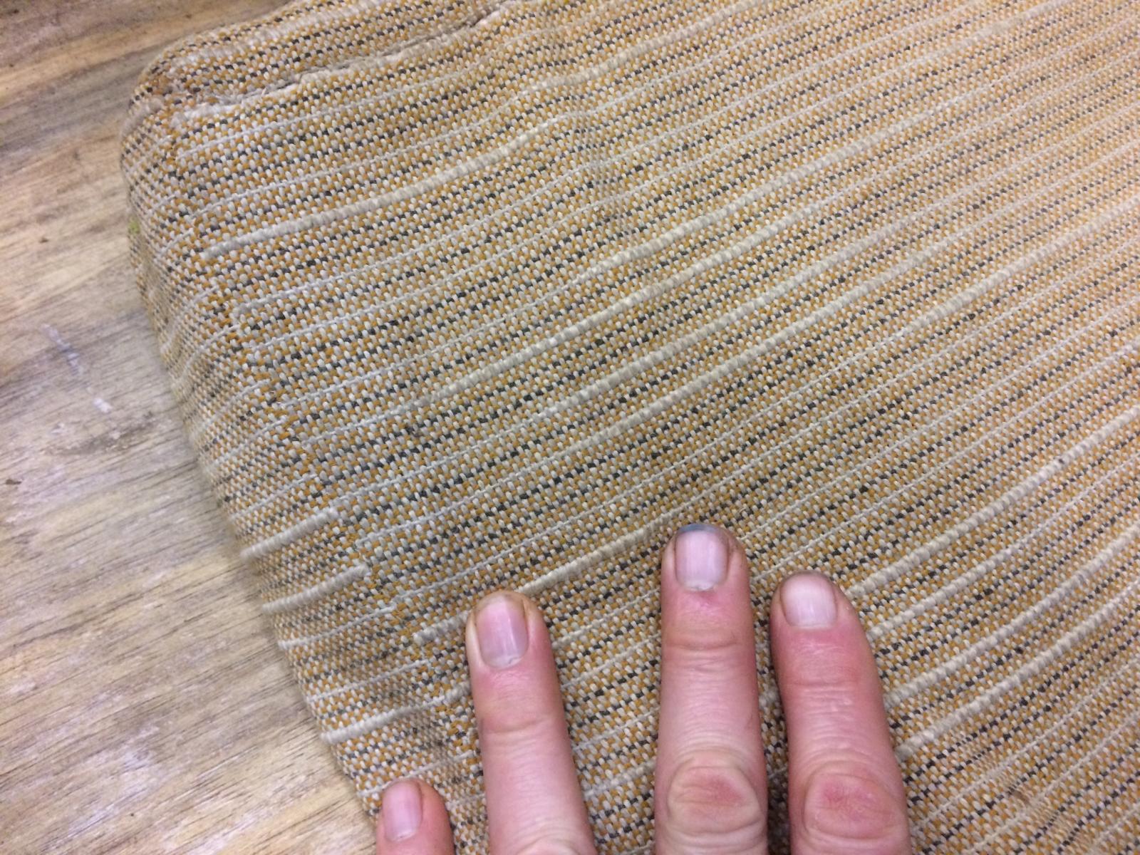 '58 Alaska westy - cushion fabric. Original?