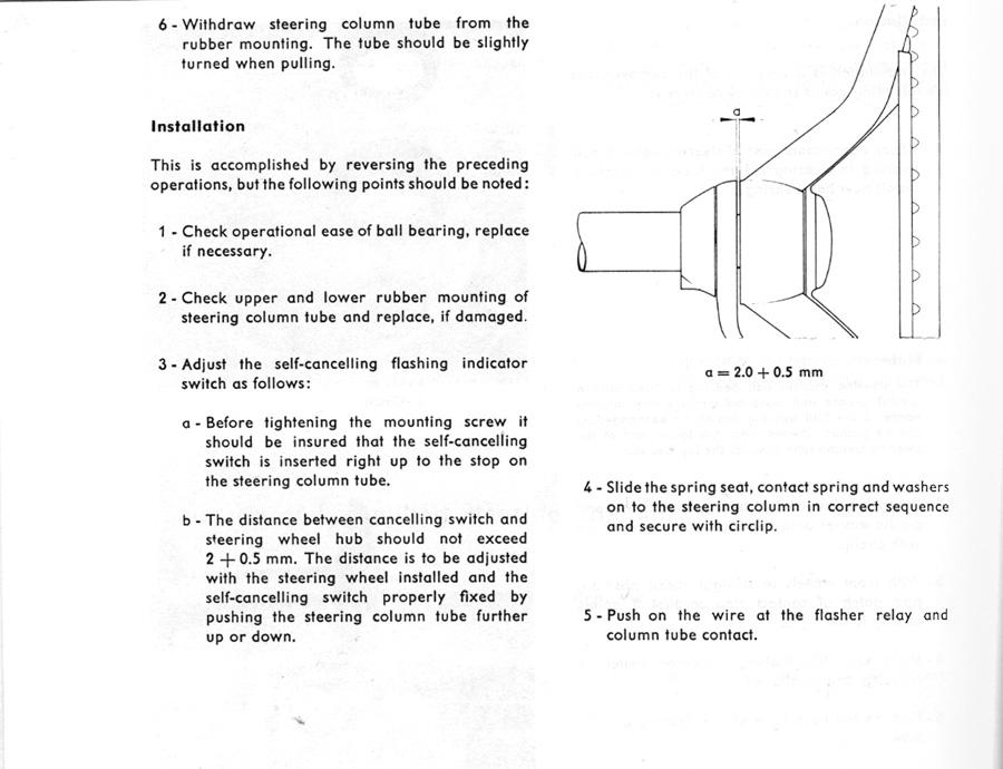 Separación entre volante y palanca de intermitentes (con fotos) 1743558