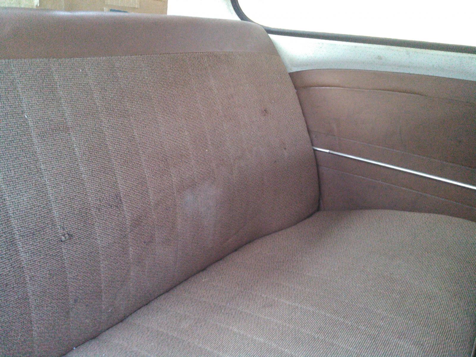 1966 Teak interior
